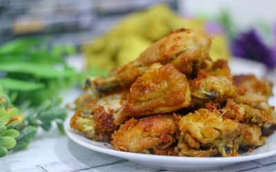 Fried Chicken with Turmeric and Herbs Recipes